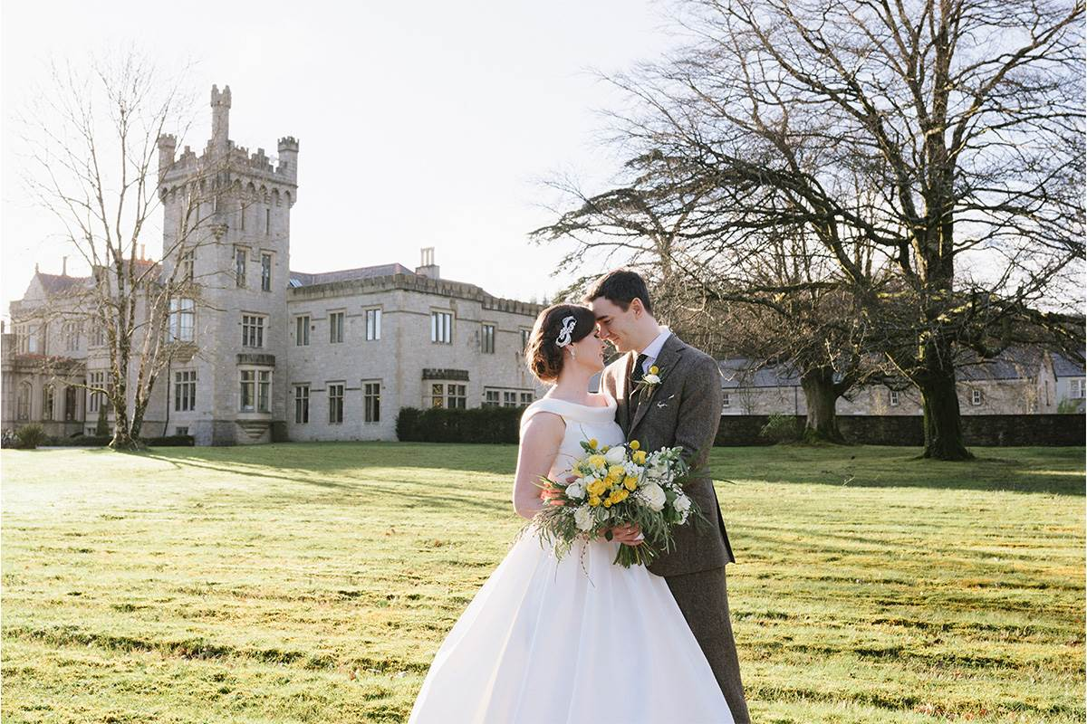 Lough Eske Wedding Couple