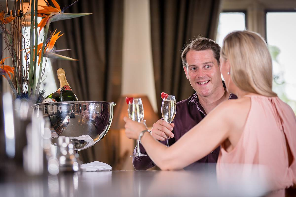 Champagne at Lough Eske