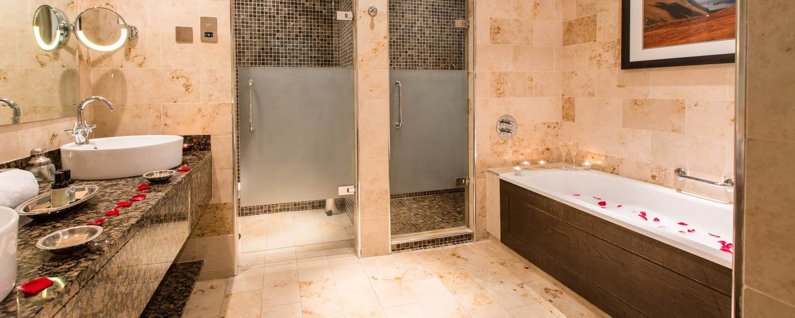 Marble Tiled Bathrooms